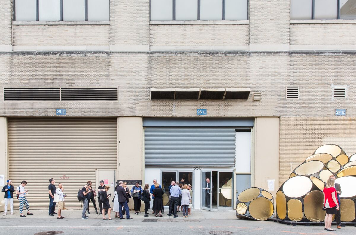 The entrance to Collective Design 2015. Photo by Scott Rudd.