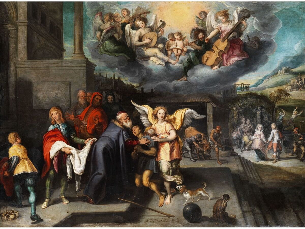 Simon de Vos, Die Heimkehr des verlorenen Sohnes, 1641. Image via Wikimedia Commons.