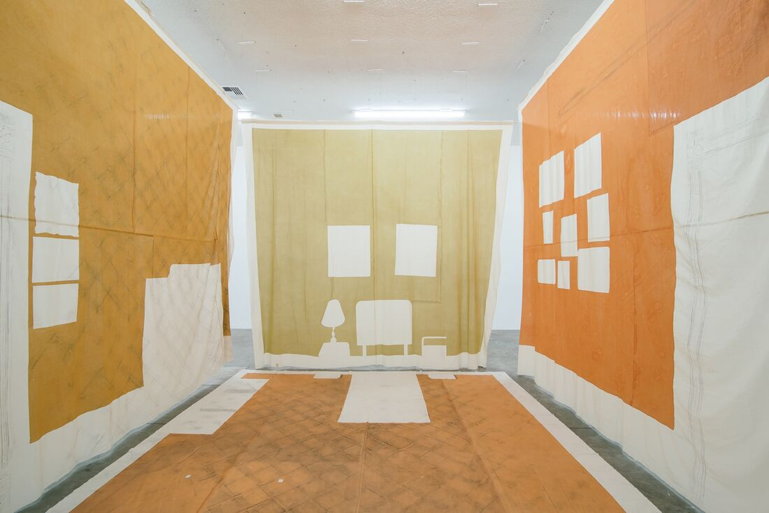 Carmen Argote, My father's side of home, 2014. IN/SITU, curated by Pablo León de la Barra (Curator at Large, Latin America, Solomon R. Guggenheim Museum). Image courtesy of Instituto de Visión (Bogota, Colombia) and EXPO CHICAGO.