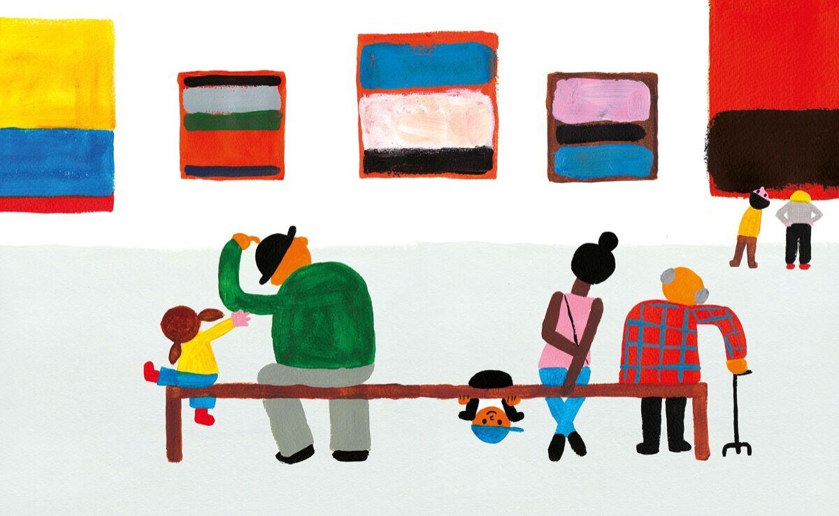 Illustration pour mon musée par Joanne Liu. © Joanne Liu.