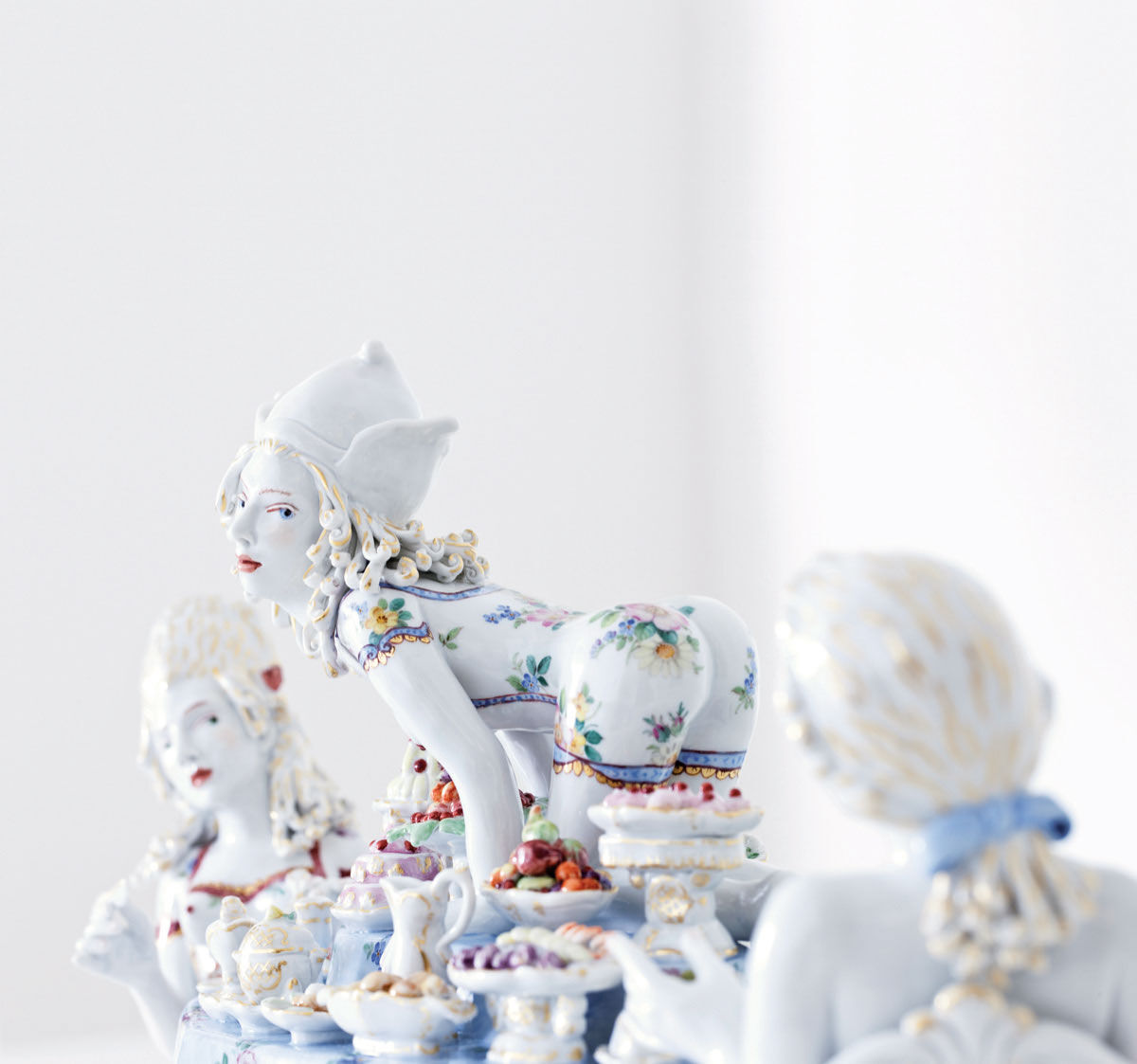 Chris Antemann, Covet, detail, 2013. Courtesy of MEISSEN artCAMPUS.