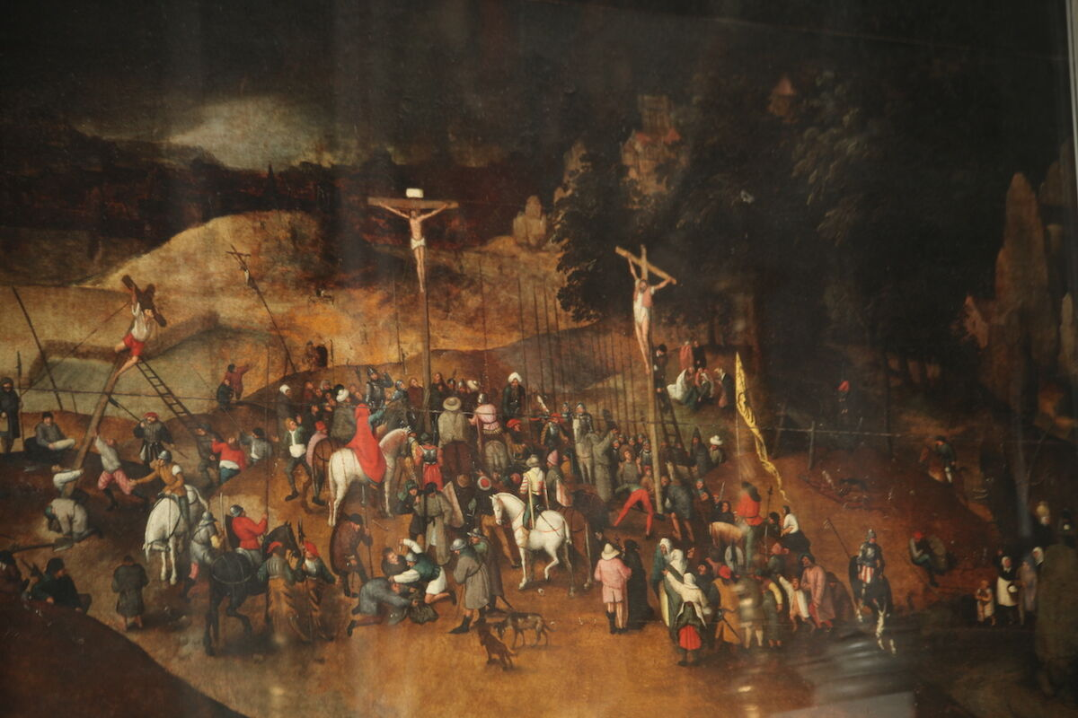 Peter Bruegel the Younger, The Crucifixion. Photo by Mongolo1984, via Wikimedia Commons.