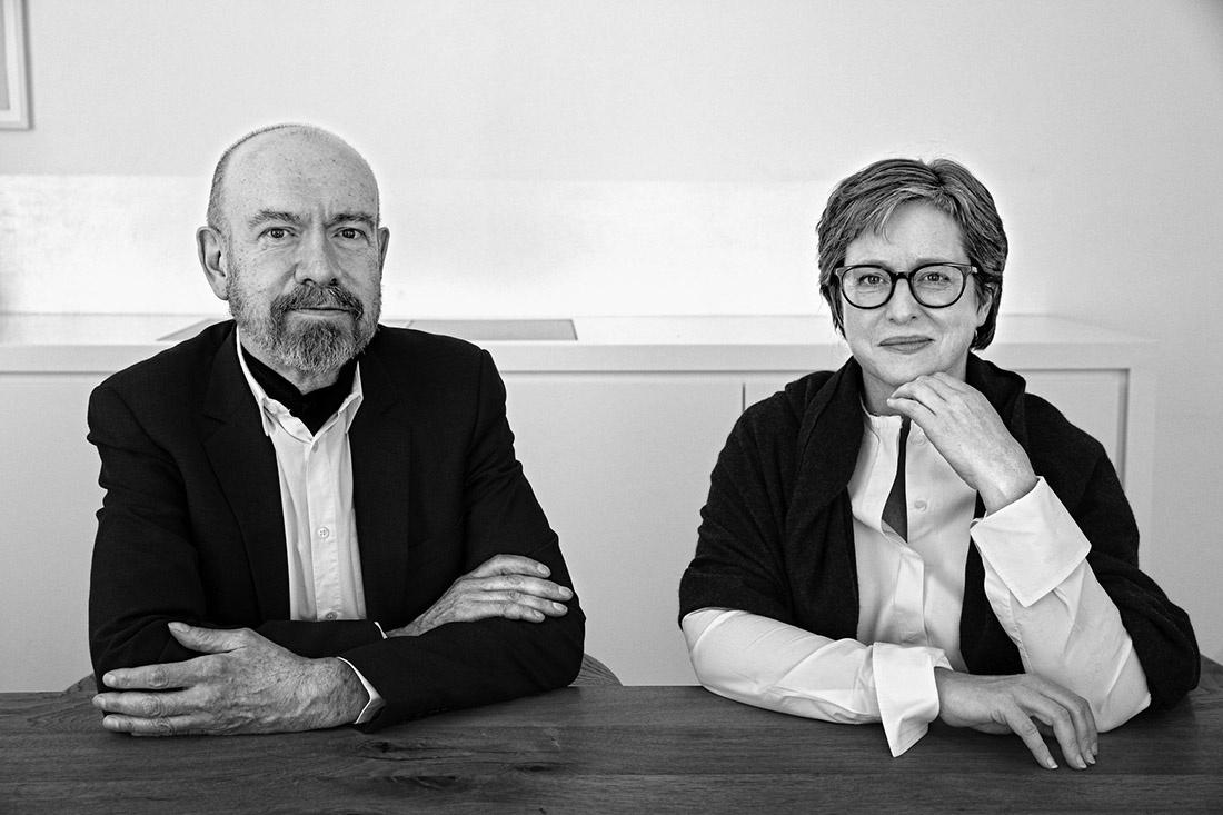 Jörg Johnen and Esther Schipper. Photo: © Regina Schmeken, Courtesy Esther Schipper.