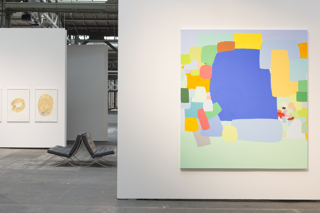Installation view of Frederico Herrero's work at Sies + Höke, Art Berlin Contemporary, 2015.Courtesy the gallery.Photo by StefanKorte.