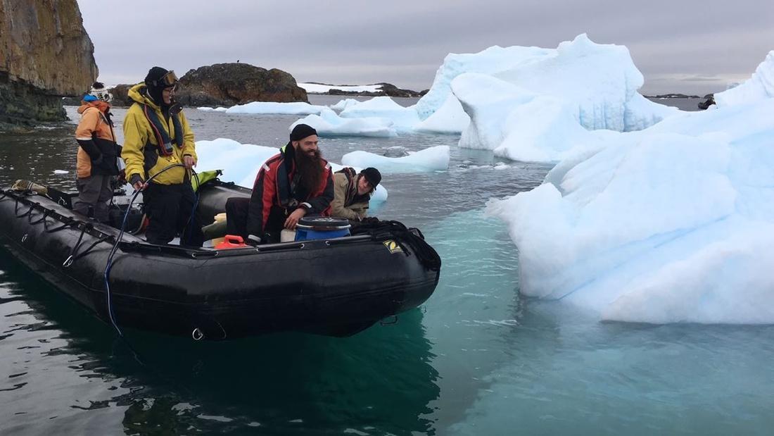 Photo courtesy of Antarctic Biennale.
