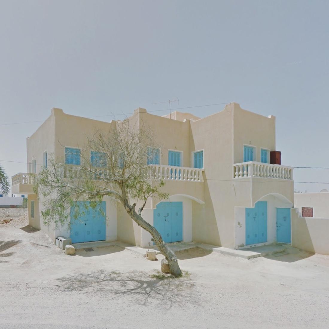 Guellaia, Medenine, Tunisia. Photograph by Jacqui Kenny via Google Street View.