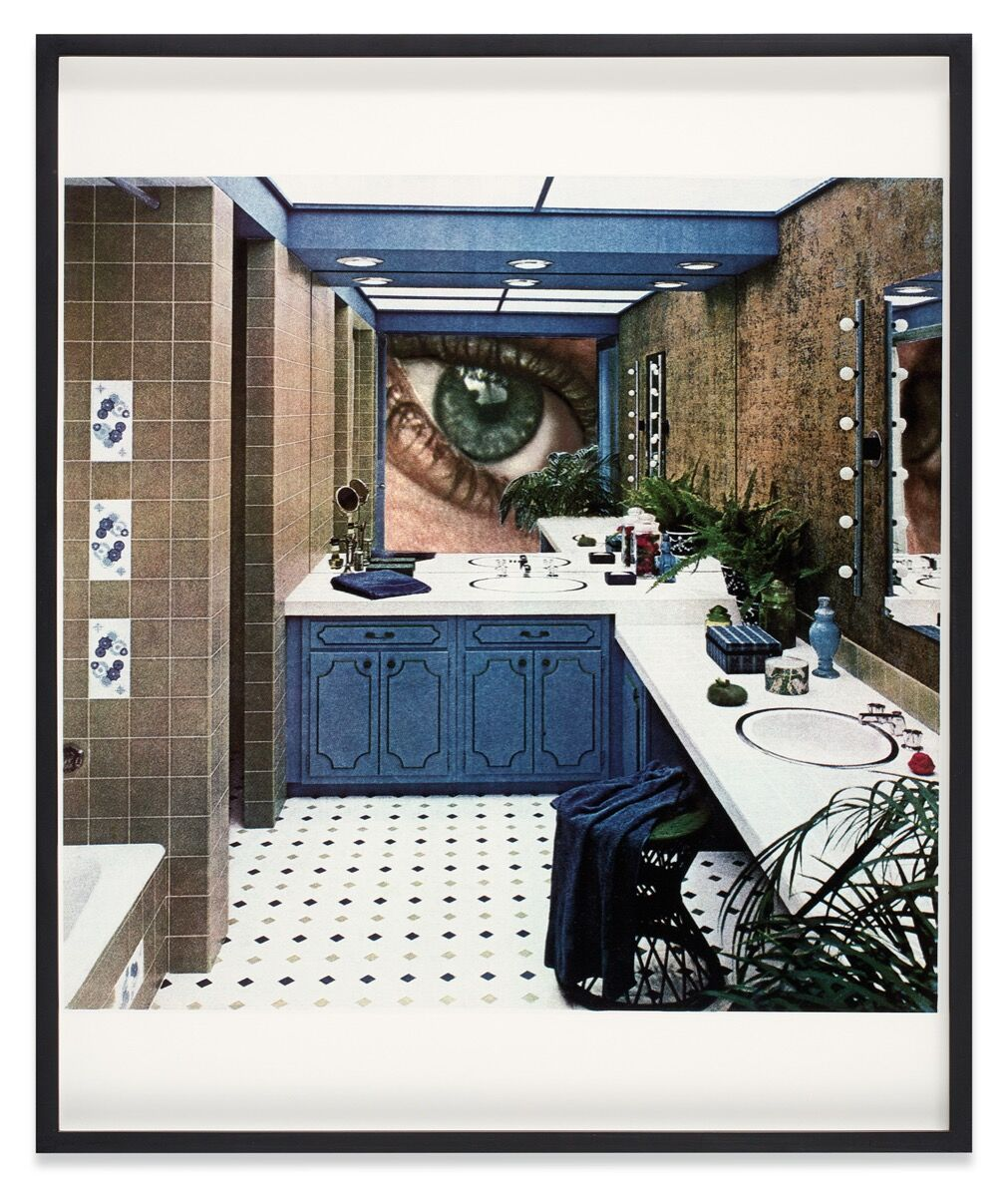 Martha Rosler, Bathroom Surveillance or Vanity Eye, 1967-1972. © Martha Rosler. Courtesy of the artist, Nagel Draxler Berlin / Cologne, Mitchell Innes & Nash / New York.