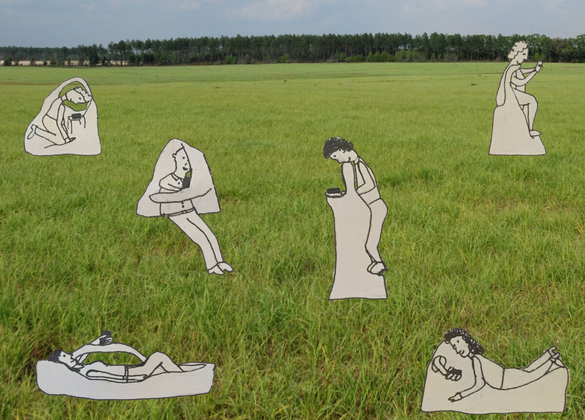 Jillian Mayer, Slumpie Collection. Courtesy of the artist.