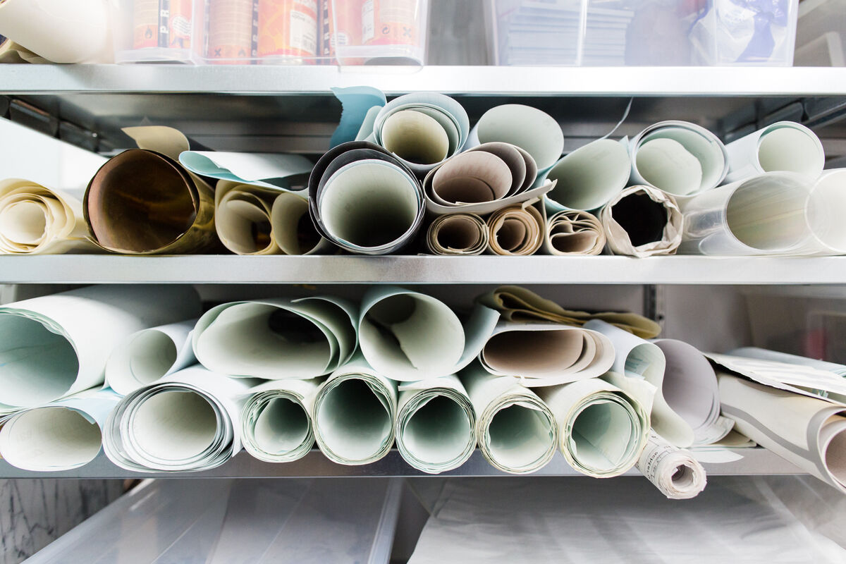 Detail of Lex Pott's Amsterdam studio. Photo by Jordi Huisman for Artsy.