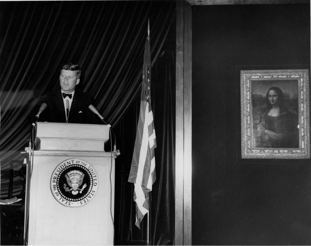 Photo by Abbie Rowe, White House Photographs. Courtesy of the John F. Kennedy Presidential Library and Museum, Boston.