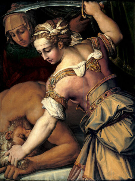 Giorgio Vasari, Judith and Holofernes, ca. 1554. Image via Wikimedia Commons.
