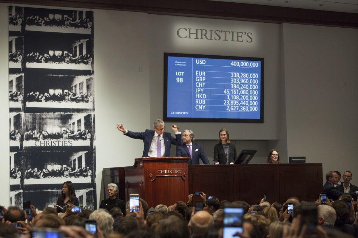 Courtesy of Christie's.