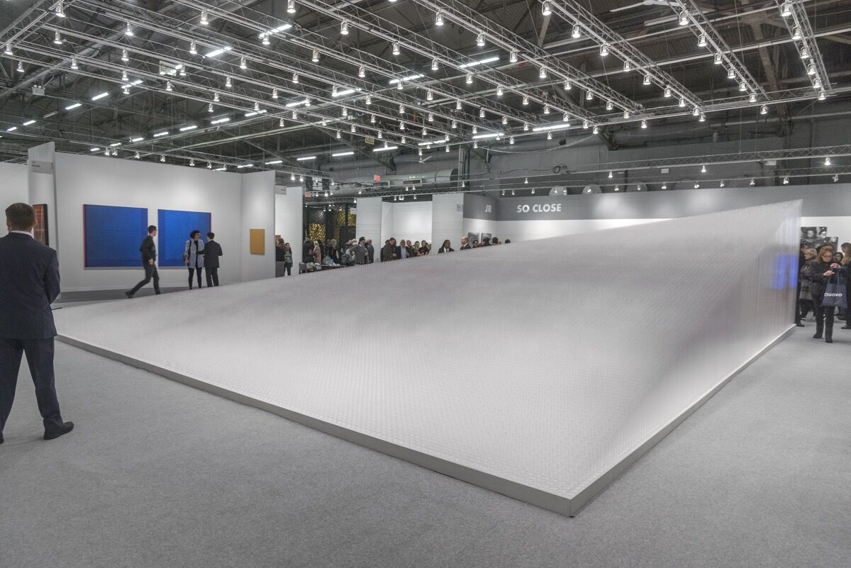 Installation view of Pace Gallery's booth at The Armory Show, 2018. Photo by Adam Reich for Artsy.