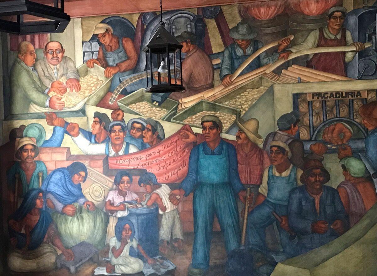Grace Greenwood, Mining, Abelardo L. Rodriguez Market, Mexico City. Photo courtesy of Joanne Mulcahy.