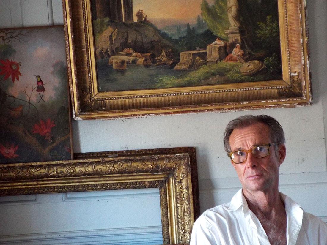 Portrait Ken Perenyi.Courtesy Ken Perenyi.