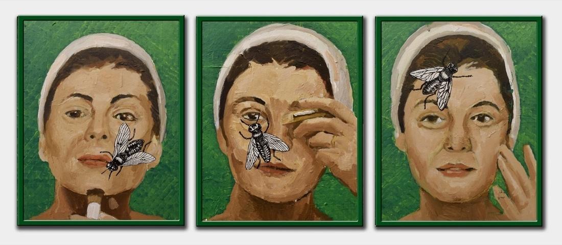 Saddam Jumaily, Hard Moment. Image courtesy of Christie's.