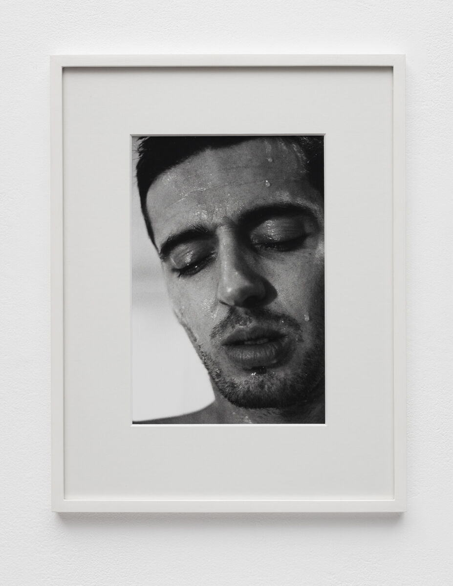 Aura Rosenberg, Head Shots (TK), 1991-1996. Courtesy of Martos Gallery.