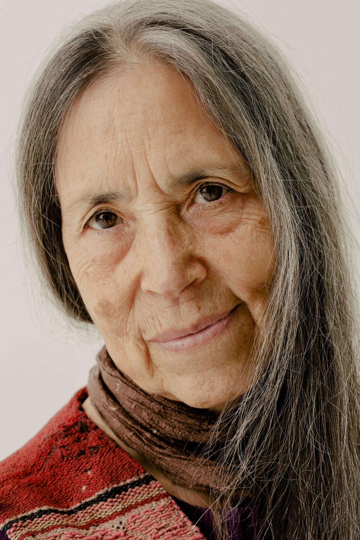 Cecilia Vicuña by Daniel Dorsa for Artsy.
