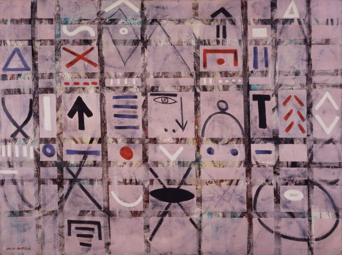 Adolph Gottlieb, Labyrinth #1, 1950. Collection of the Adolph and Esther Gottlieb Foundation, New York. © Adolph and Esther Gottlieb Foundation/Licensed by VAGA, New York, NY. Courtesy of the Phillips Collection.
