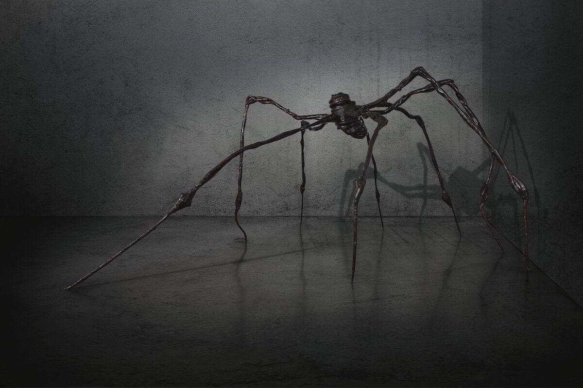 Louise Bourgeois, Spider, 1997. Est. $25 million to $35 million. Courtesy Christie's Images Ltd. 2019.