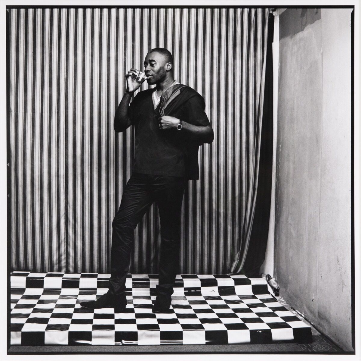 Malick Sidibé, Untitled (Chris Ofili). Courtesy of Jack Shainman Gallery.