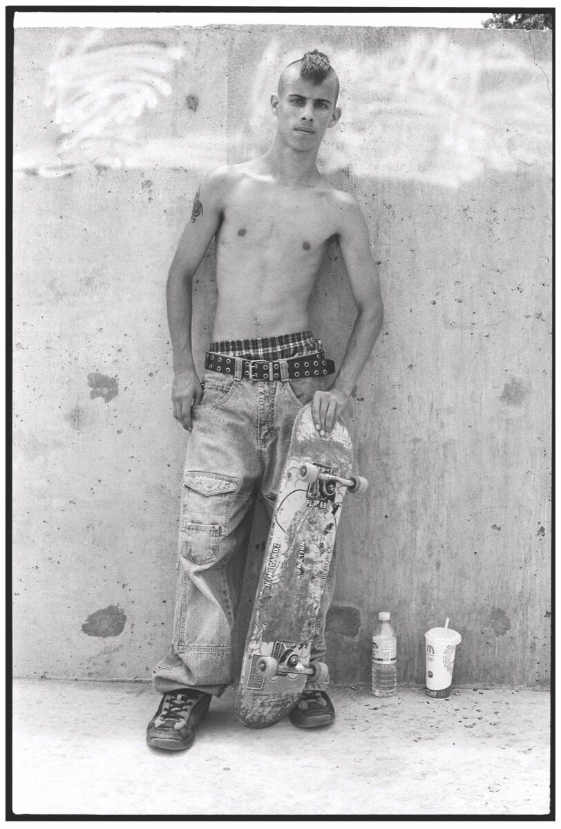Ed Templeton, Mohawk Skater, Missouri, 2006, 2018. Courtesy of the artist and Roberts Projects, Los Angeles, California.