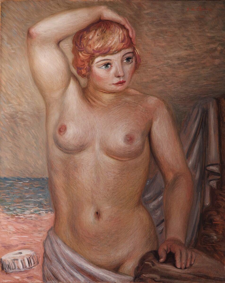 Giorgio de Chirico, Nudo, 1931. Courtesy of Gianluca Poldi.