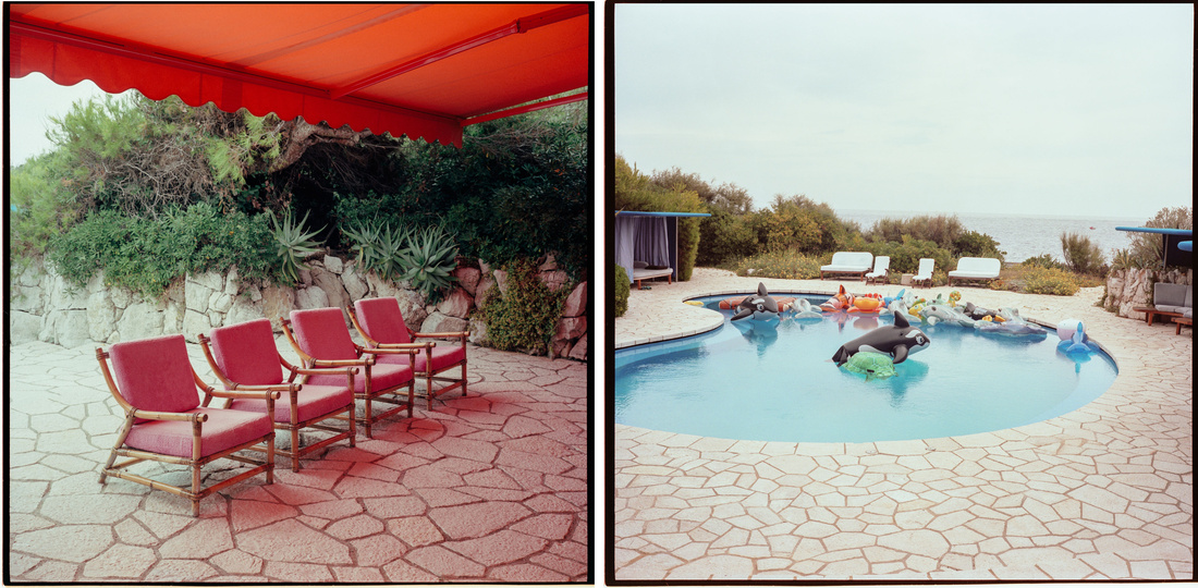 Photos of Jean Pigozzi'shome inCap d'Antibes byVictor Picon for Artsy.
