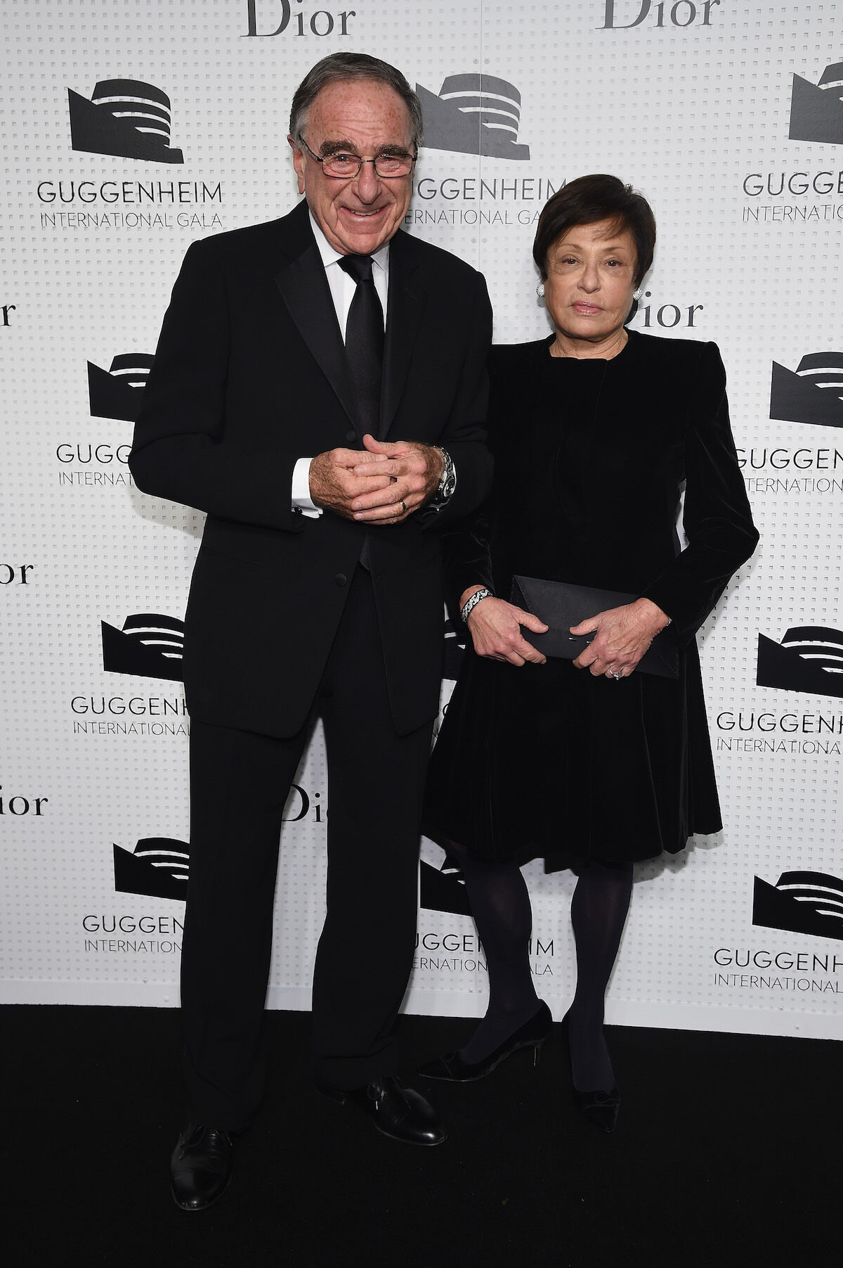 Harry and Linda Macklowe at a Guggenheim gala in 2014. Photo by Dimitrios Kambouris/Getty Images for Dior.