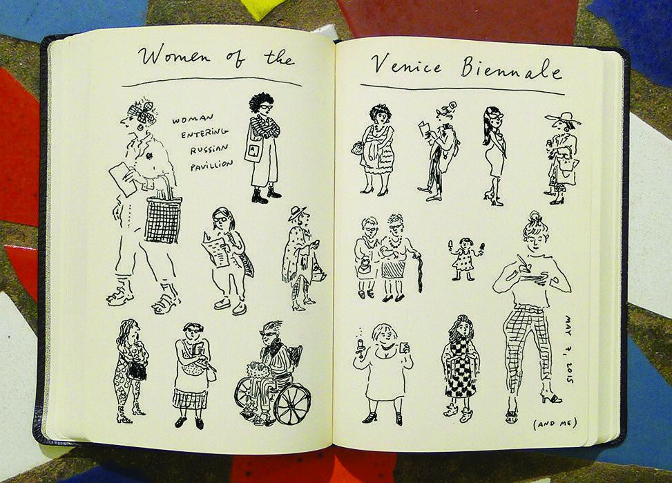Joana Avillez, illustration from her travel diary for New York Magazine, 2015. Courtesy of the artist.
