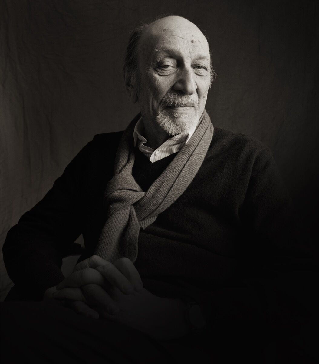 Portrait of Milton Glaser by Michael Somoroff. Courtesy of Milton Glaser, Inc.
