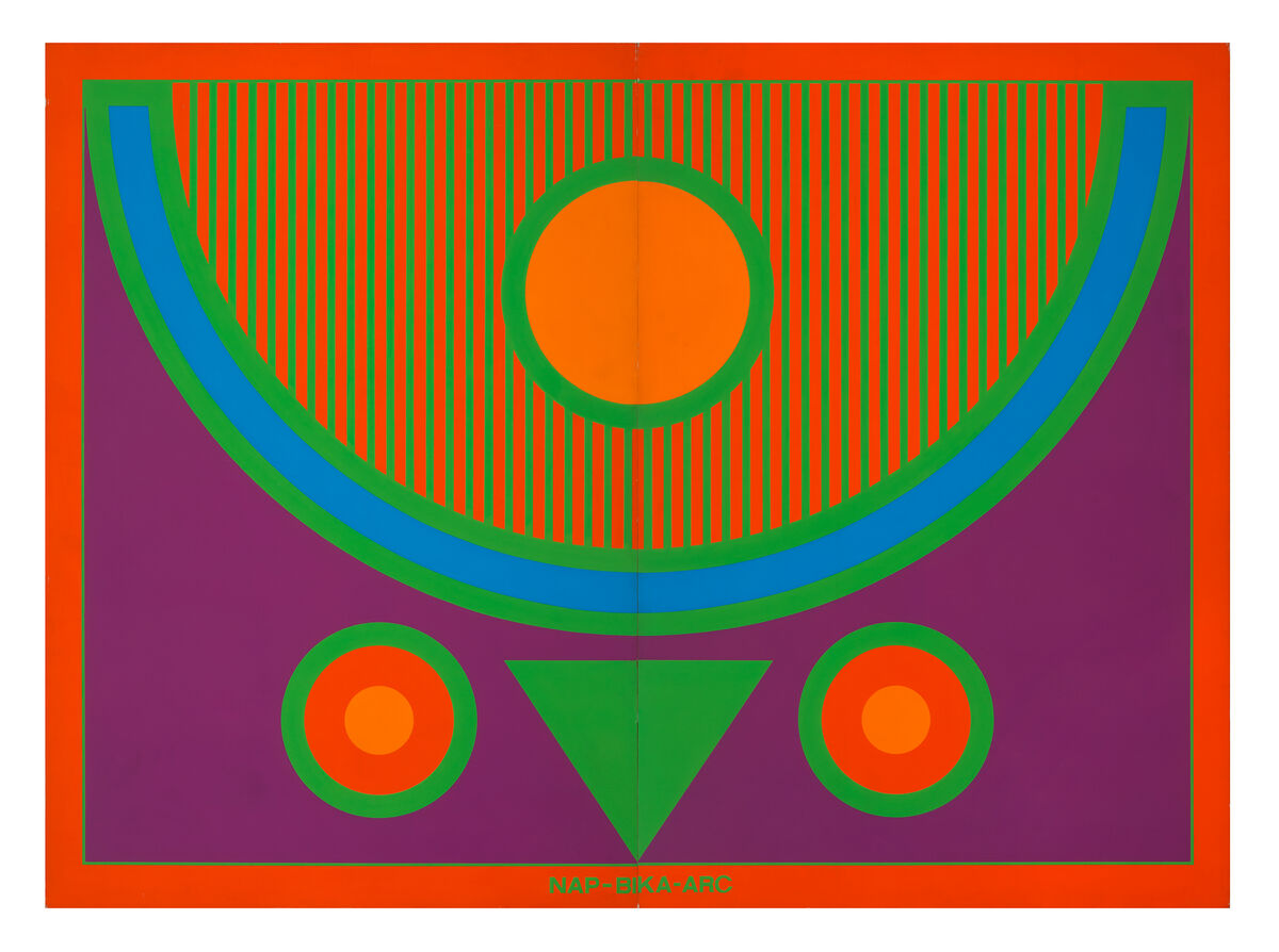Imre Bak, SUN-OX-FACE, 1979. Courtesy of the artist, Elizabeth Dee New York, and acb Gaallery Budapest.