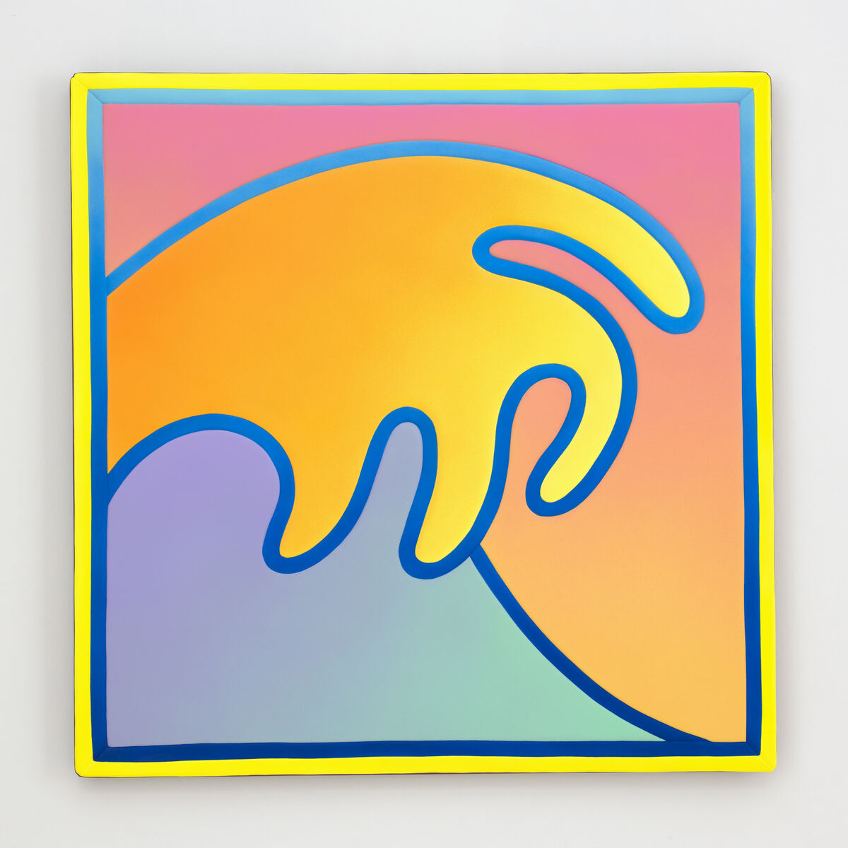 Alex Israel, Wave, 2018. © Alex Israel. Photo by Martin Wong. Courtesy of Gagosian.
