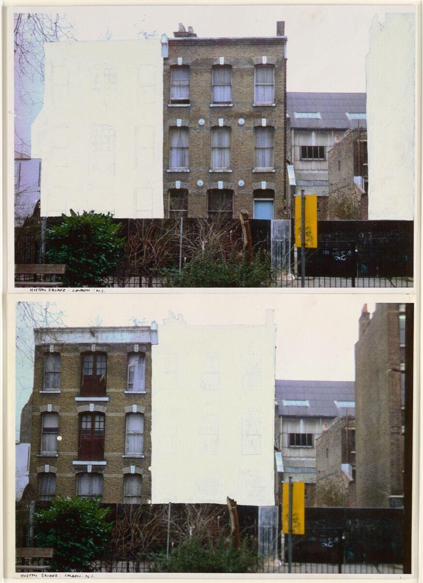 Rachel Whiteread, Study for House, 1992. © Rachel Whiteread. Courtesy of the artist, Gagosian, London, Luhring Augustine, New York, and Galleria Lorcan O'Neill.
