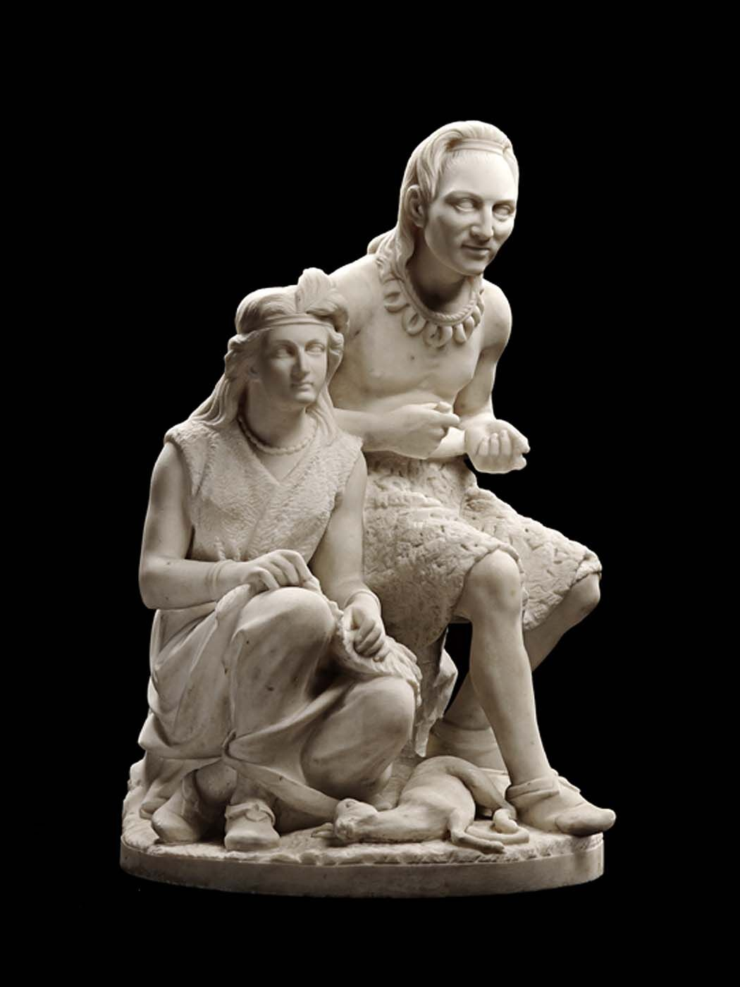 Edmonia Lewis, Old Arrow Maker, 1872. Courtesy of the Smithsonian American Art Museum.