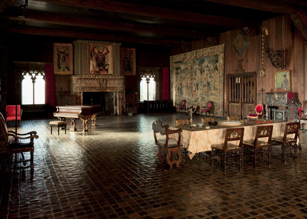 Installation view of the Tapestry Room. Photo by Sean Dungan. Courtesy of the Isabella Stewart Gardner Museum, Boston.