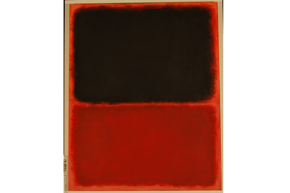 The forged Mark Rothko painting under dispute.