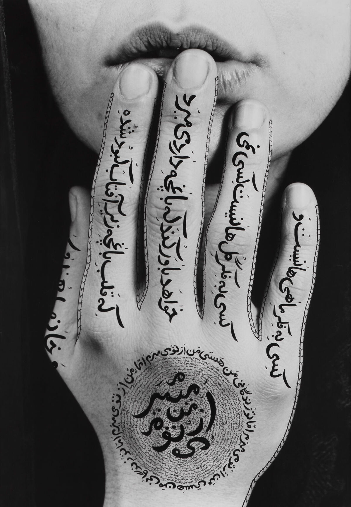 Shirin Neshat, Untitled, 1996. © Shirin Neshat. Photo by Larry Barns. Courtesy of the artist and Gladstone Gallery, New York and Brussels.