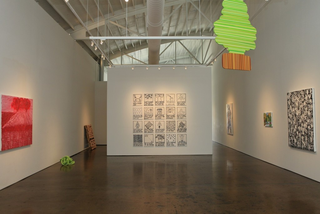 """Installation view of """"Instructions Included"""" at David Lusk Gallery, 2015. Image courtesy of David Lusk Gallery."""