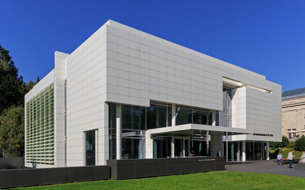 The Museum Frieder Burda in Baden-Baden, Germany. Photo by A.Savin, via Wikimedia Commons.