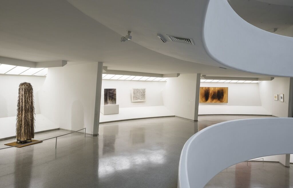 "Install shot from ""ZERO: Countdown to Tomorrow, 1950s-60s"": Photo: David Heald © Solomon R. Guggenheim Museum, New York."