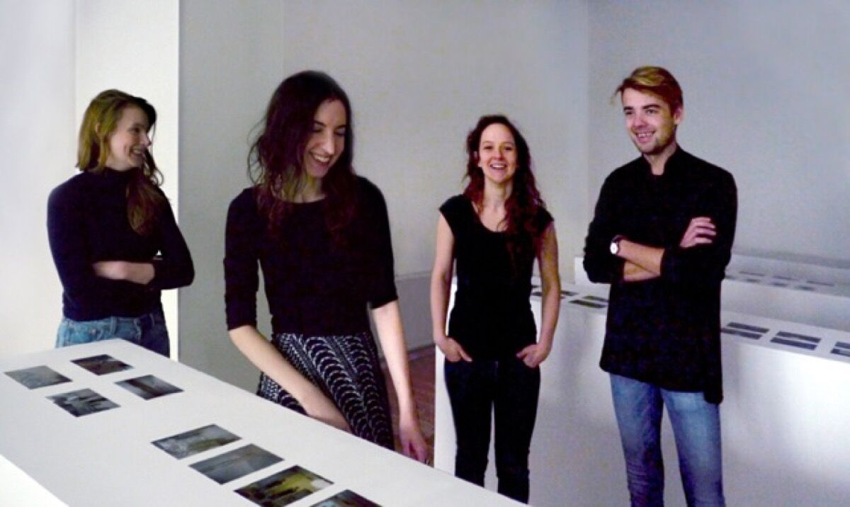 Eva Wiedemann, Julianne Cordray, Rachel Alliston, and Ignas Petronis. Photo by Maximilian Haslberger, courtesy of DECAD.