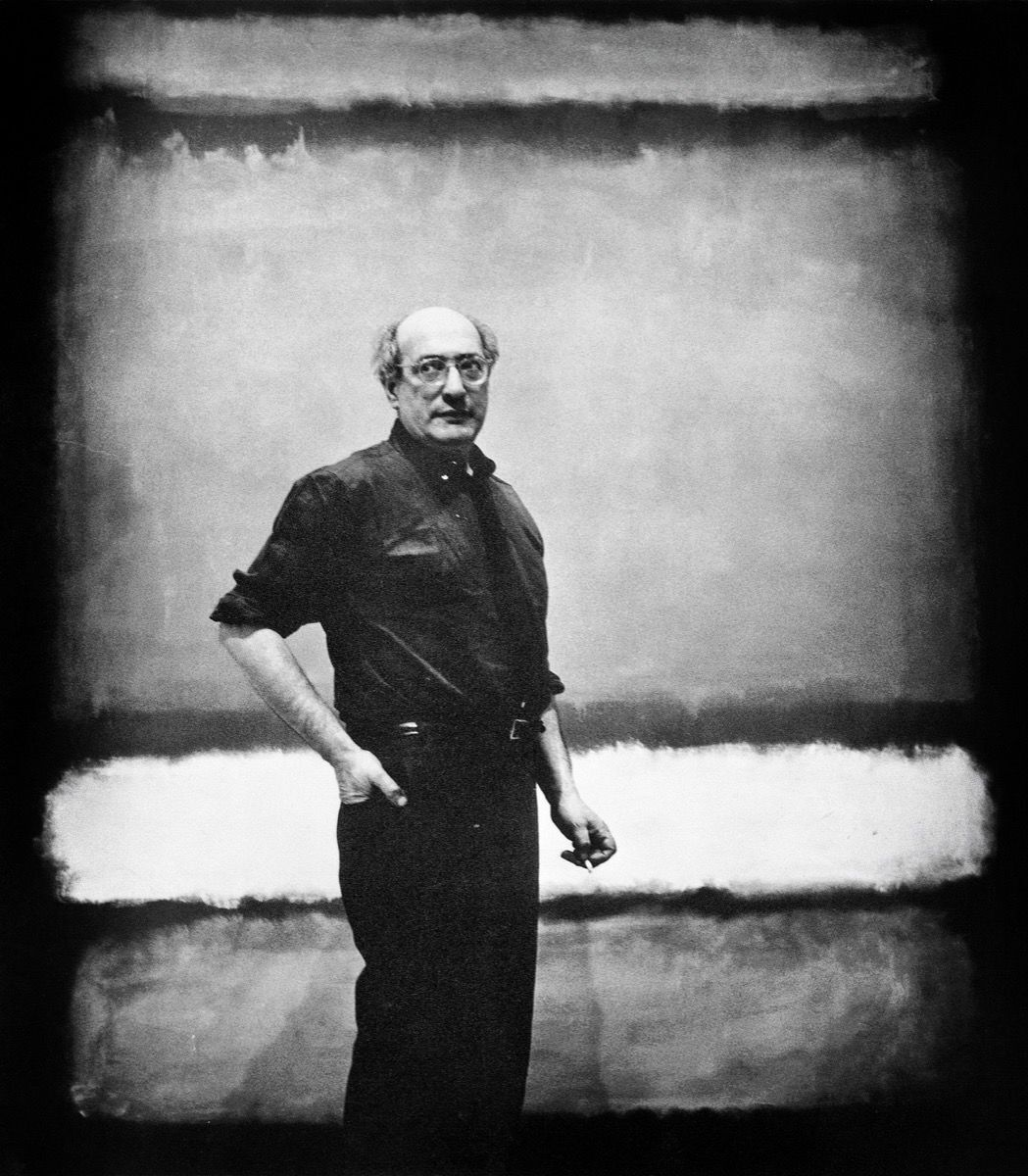 Mark Rothko, 1961. Photo by Kate Rothko/Apic/Getty Images.