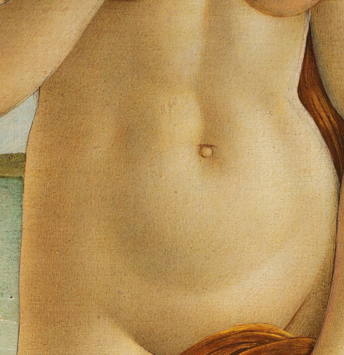 Sandro Botticelli, The Birth of Venus (detail), ca. 1486. Image via Wikimedia Commons.