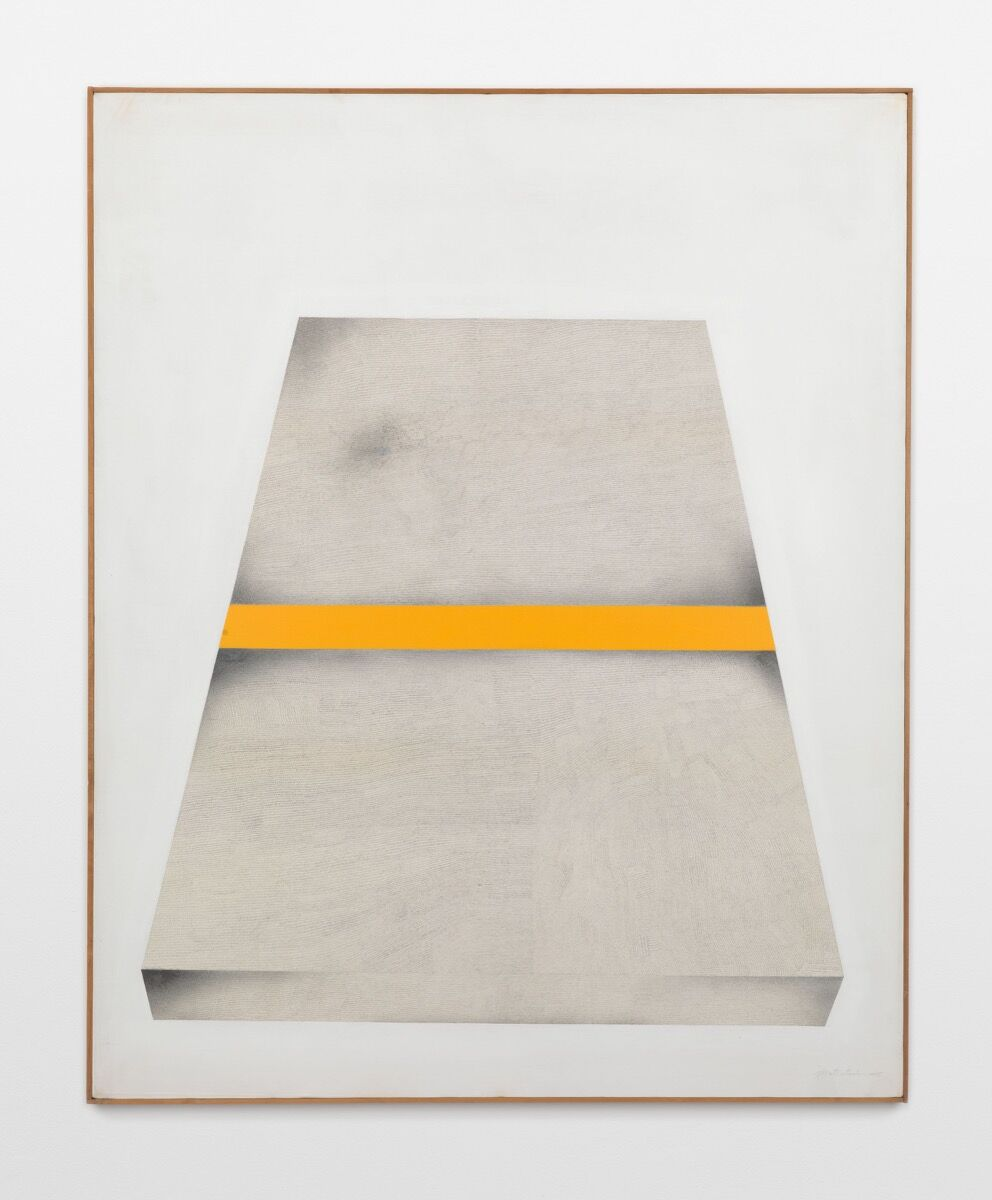 Takesada Matsutani, Object Yellow Box, 1975. © Takesada Matsutani. Courtesy of the artist and Hauser & Wirth.