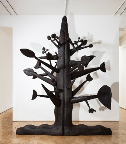 Ibrahim El-Salahi, Meditation Tree, 2018, Courtesy Ibrahim El-Salahi and Vigo Gallery