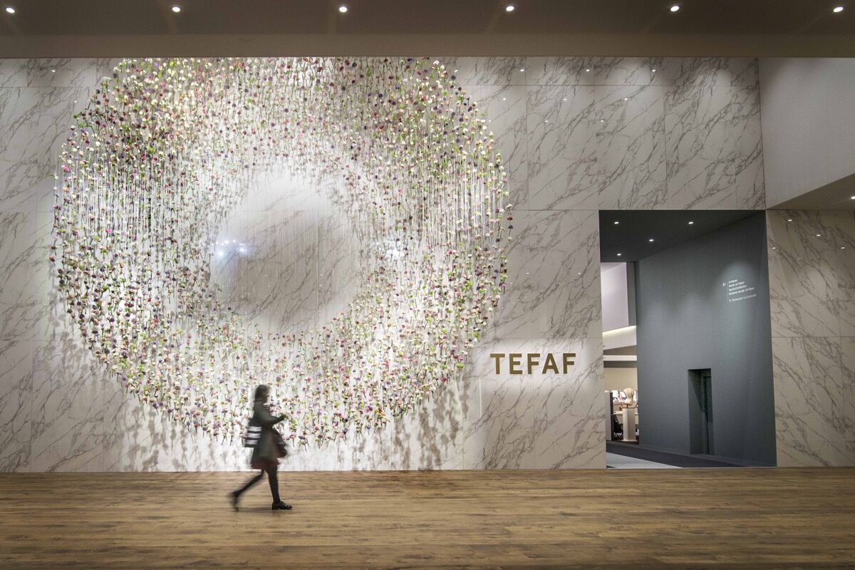 Entrance of TEFAF Maastricht, 2017. Photo by Loraine Bodewes. Courtesy of TEFAF Maastricht.