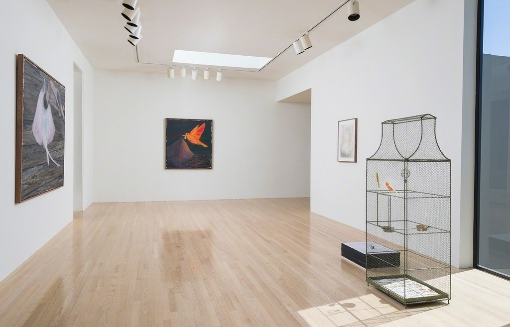 """Installation view of """"Enrique Martínez Celaya: Lone Star,"""" L.A. Louver, Los Angeles. Courtesy L.A. Louver and the artist."""