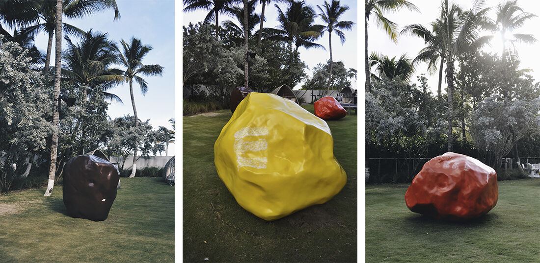 Dan Colen M&Ms. Photographs by Carla Barraez for Nautilus, a SIXTY Hotel.