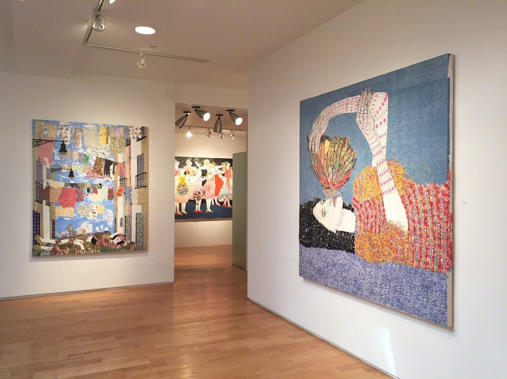 """Installation view """"The Harmony of Spheres"""" at Praxis Gallery, New York, 2015. Image courtesy of Praxis Gallery, New York."""